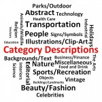 Описание категорий на Шаттерсток