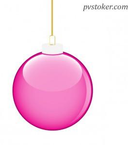 как нарисовать новогодний шар в иллюстраторе