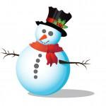 Рисуем снеговика: подробный урок по иллюстратору