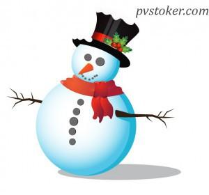 как нарисовать снеговик в Adobe Illustrator