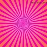 Как создать солнечные лучи разных цветов