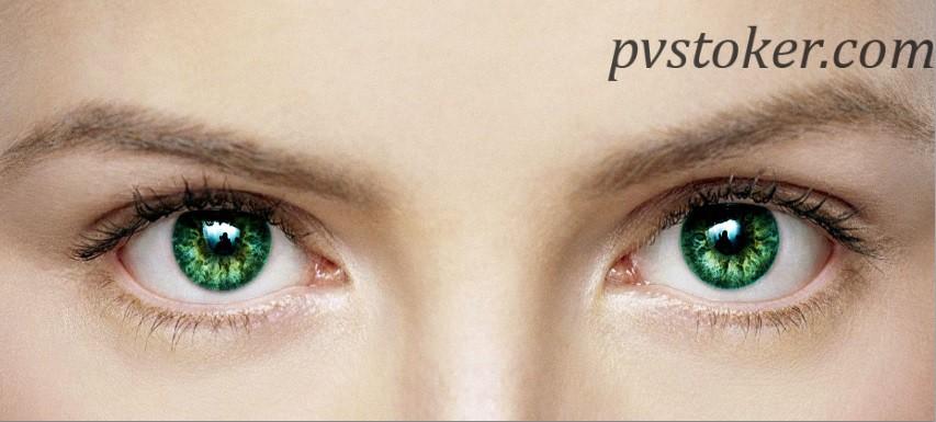 как изменить цвет глаз в фотошопе 08