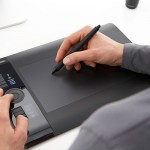 Как рисовать на графическом планшете в illustrator