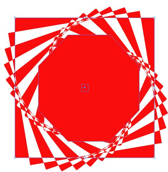 Как создать оптическую иллюзию шаг 6