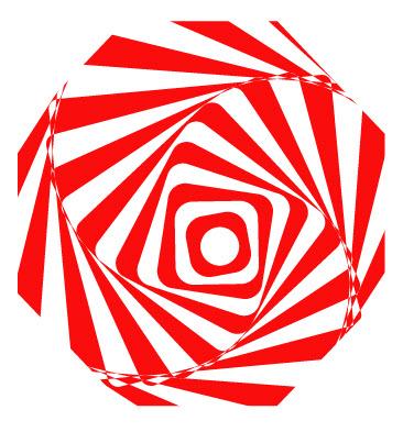 Как создать оптическую иллюзию шаг 7