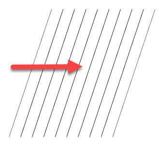 Создаем векторную штриховку шаг 1