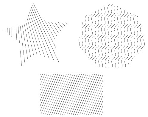 Создаем векторную штриховку