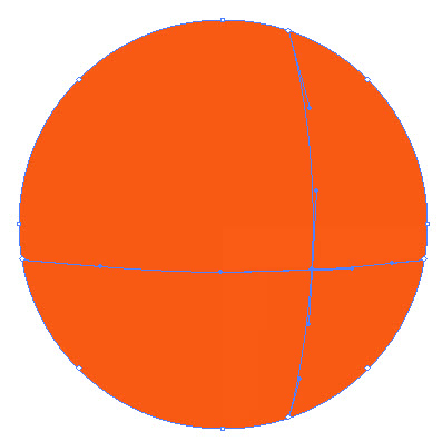 Как создать красочный градиентный шар шаг 2