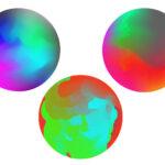 Как создать красочный градиентный шар в иллюстраторе