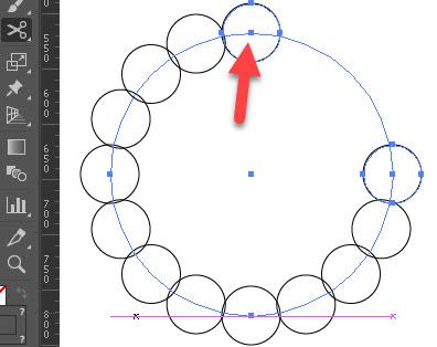 Как создавать круговые узоры шаг 2