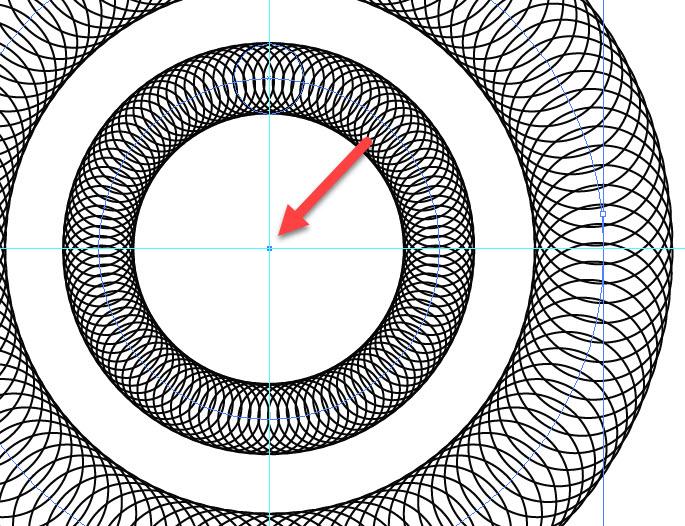 Как создавать круговые узоры шаг 4