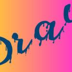 Как создать эффект капающей краски в иллюстраторе