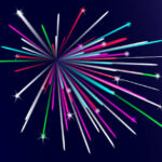 Как создать векторный фейерверк в Illustrator