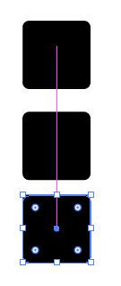 Создаем геометрический дизайн логотипа шаг 1