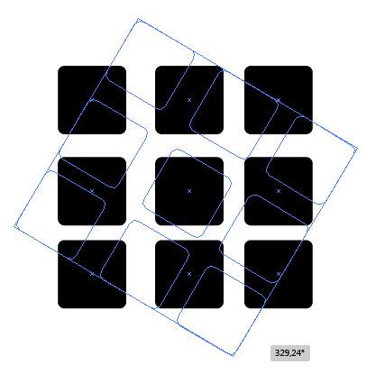 Создаем геометрический дизайн логотипа шаг 3