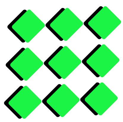 Создаем геометрический дизайн логотипа шаг 4