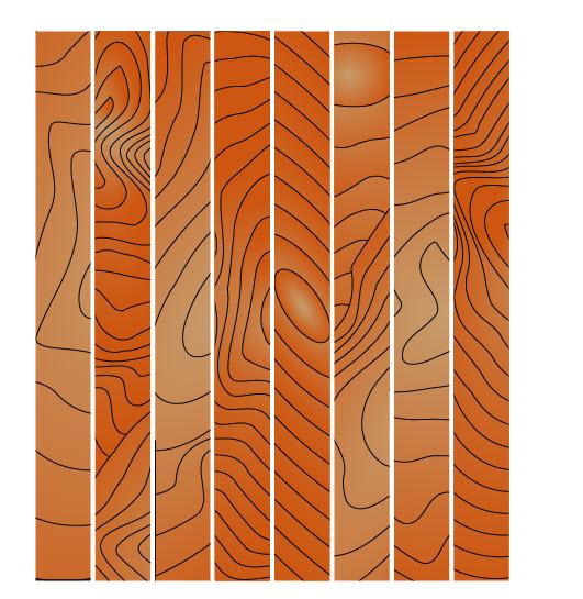 Как создать деревянную текстуру шаг 9