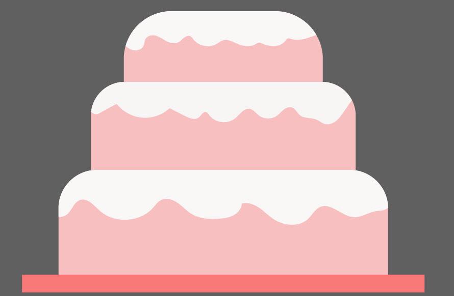 Как создать праздничный торт шаг 5