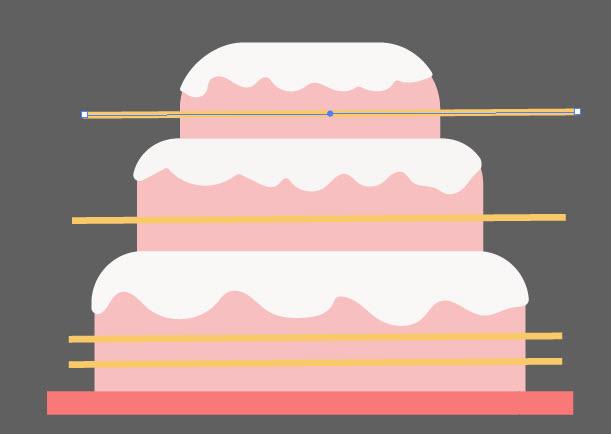 Как создать праздничный торт шаг 7