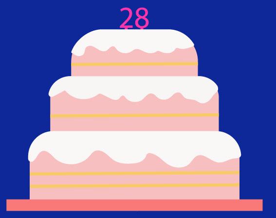 Как создать праздничный торт шаг 9