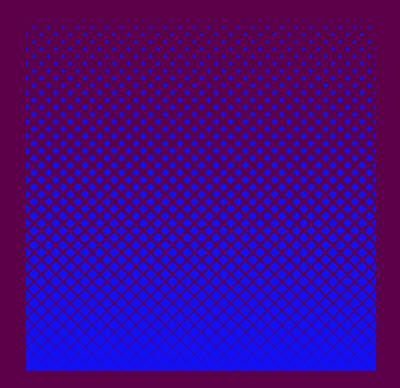 Создаем геометрический полутон