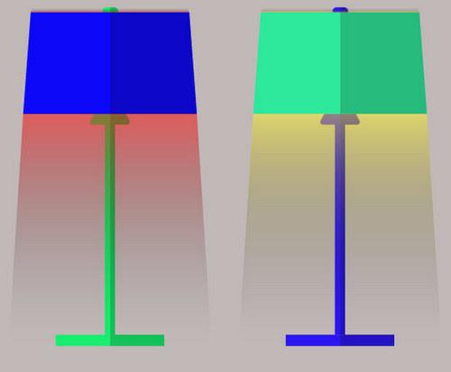 Как создать лампу