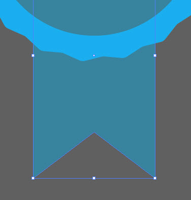 Как создать призовую ленточку шаг 5