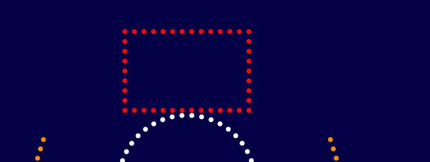 Как создать снеговика из точек шаг 8