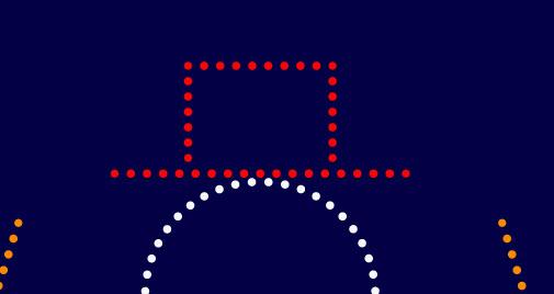 Как создать снеговика из точек шаг 9