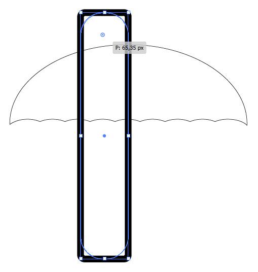 Создаем зонтик шаг 6