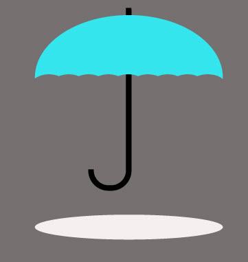 Создаем зонтик шаг 9