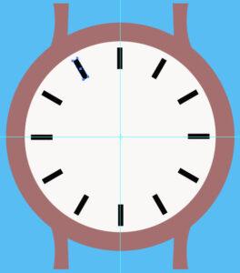 Как создать часы шаг 4
