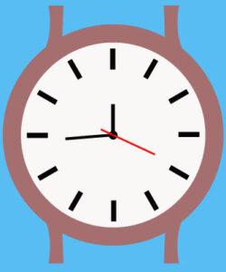 Как создать часы шаг 5