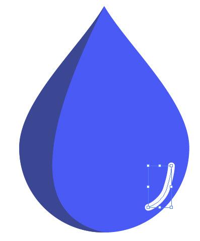 Как создать каплю воды шаг 9
