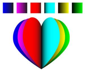 Как создать многослойное сердце шаг 6