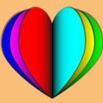Как создать многослойное сердце в Illustrator