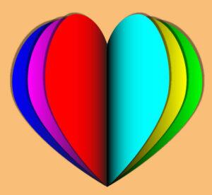 Как создать многослойное сердце