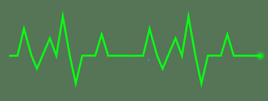 Создаем линию сердцебиения шаг 4