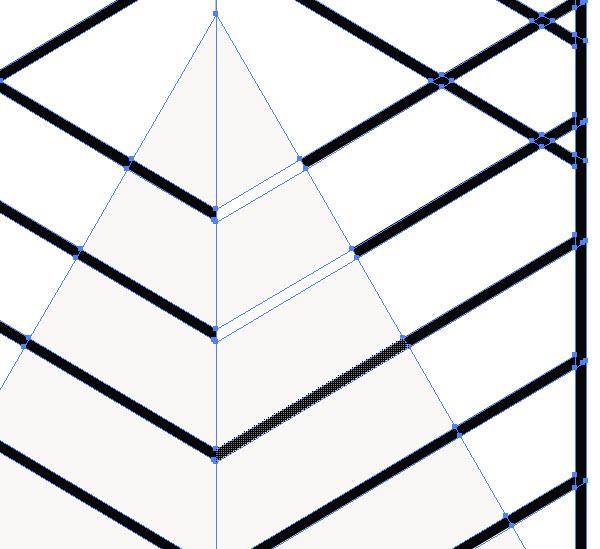 Как создать пирамиду шаг 3