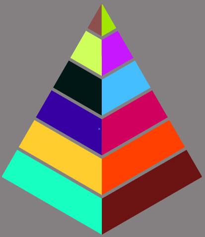 Как создать пирамиду