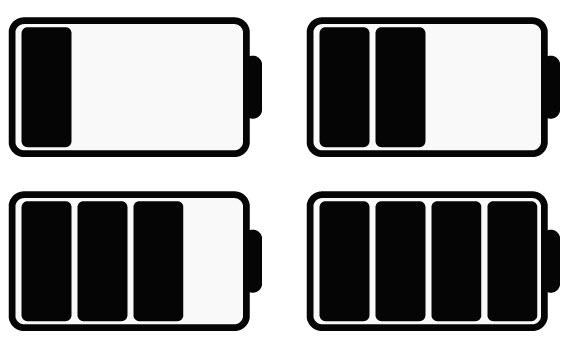 Создаем уровень заряда батареи шаг 3