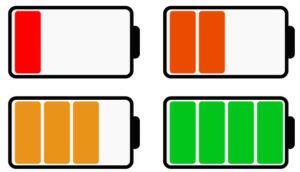 Создаем уровень заряда батареи шаг 4