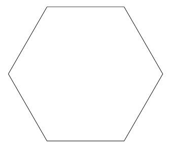 Создаем драгоценный камень из многоугольника шаг 1