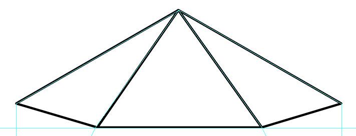 Создаем драгоценный камень из многоугольника шаг 4