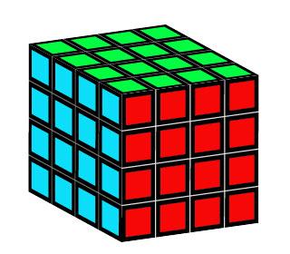 Создаем кубик Рубика шаг 4