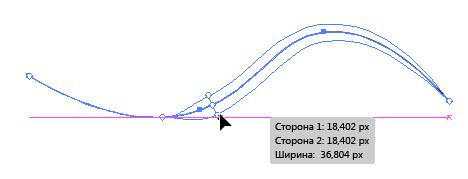 Инструмент «Ширина»